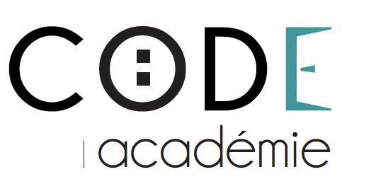 Logo code academie